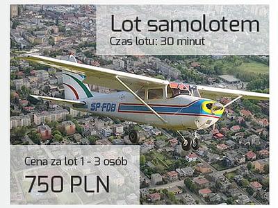 Lot samolotem Cessna