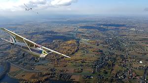 Loty widokowe samolotem i szybowcem